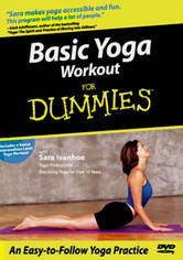 Rent Basic Yoga Workout for Dummies on DVD