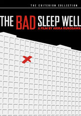 Rent The Bad Sleep Well on DVD