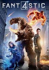 Rent Fantastic Four on DVD