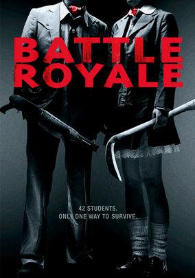 Rent Battle Royale on DVD