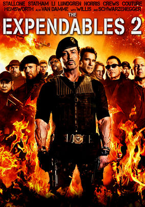Rent The Expendables 2 on DVD