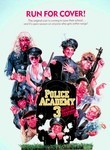 Police Academy 3: Back in Training (1986) Box Art