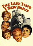 Last Time I Saw Paris (1954) poster