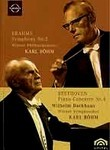 Beethoven: Piano Concerto No. 4 / Brahms: Symphony No. 2